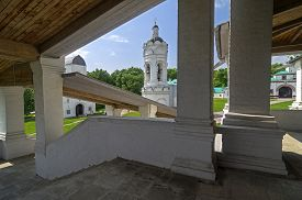 foto of ascension  - View of the bell tower of the church of St - JPG