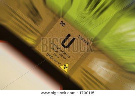 Uranium From Periodic Table