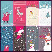 Постер, плакат: Мультфильм Рождественские открытки