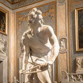 Bernini Statue: David poster