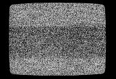 No Signal Tv Texture. Television Grainy Noise Effect As A Background. No Signal Retro Vintage Televi poster