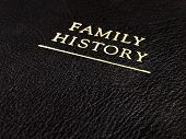 Family History Leather Book
