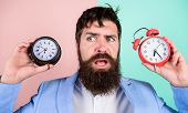 Changing Time Zones Affect Health. Time Zone. Does Changing Clock Mess With Your Health. Man Bearded poster