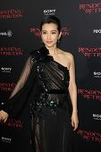 LOS ANGELES - SEP 12: Li Bingbing at the LA premiere of 'Resident Evil: Retribution' at Regal Cinema