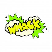 cartoon whack symbol