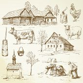 stock photo of hen house  - farm - JPG