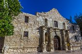 Interesting Perspective of the Historic Alamo, San Antonio, Texas.  Taken Dec. 2012.