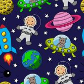 Cartoon space