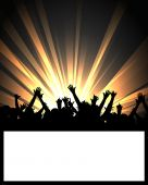 Постер, плакат: Танцы партии табло