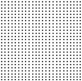 Background-White Dots On Black Pattern