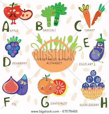 Very cute alphabet of fruit and vegetablesa b c d e f gh very cute alphabet of fruit and vegetablesa b c d altavistaventures Images