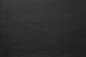 foto of outer  - texture of leather fabric with outer side for pure backgrounds of black color with the punched openings - JPG