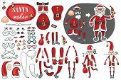 image of santa claus hat  - Constructor or Santa Claus - JPG