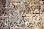 picture of building relief  - detail of bas - JPG
