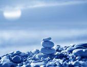 stock photo of fulcrum  - seashore in Crimea - JPG