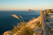 foto of costa blanca  - A sunny morning over Altea bay Costa Blanca Spain - JPG