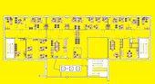 foto of straddling  - Plan a large office with straddling furniture   - JPG