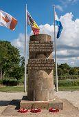 War Memorial Pegasus Bridge In France poster