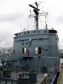 image of labo  - portrait of german navy ship in ocean - JPG