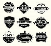 Vintage Premium Quality and Satisfaction Guarantee Label collection