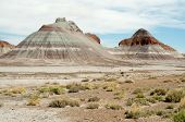 pic of paleozoic  - the teepees painted desert hills - JPG