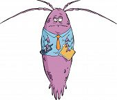 pic of plankton  - Office plankton on a white background vector illustration - JPG