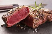 picture of porterhouse steak  - beef steak - JPG