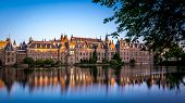 The Hague Binnenhof parliament