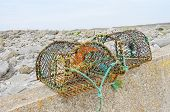 Lobster traps on Aran Islands