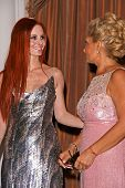 Phoebe Price and Gila Michael  at the Neuromuscular Disease Foundation Spring Gala Dinner and Casino