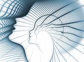 stock photo of human soul  - Geometry of Soul series - JPG
