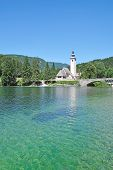 Lake Bohinj,Triglav National Park,Slovenia