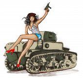 stock photo of revolutionary war  - Viva Revolution  - JPG