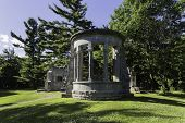 pic of embalming  - MacKenzie King Ruins - JPG