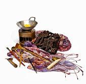 picture of batik  - Tools for batik  - JPG