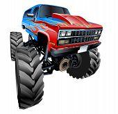 pic of monster-truck  - Cartoon Monster Truck - JPG