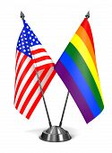 picture of bisexual  - USA and Rainbow Gay Pride  - JPG