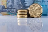 stock photo of ten  - Australian Currency  - JPG