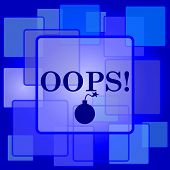 image of oops  - Oops icon - JPG