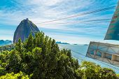 pic of olympic mountains  - The Sugarloaf Mountain in Rio de Janeiro - JPG