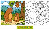 picture of baby bear  - Game for children - JPG