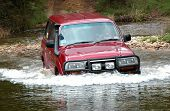 4Wd Crossing River