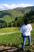 Lady Walker In The Tyrol