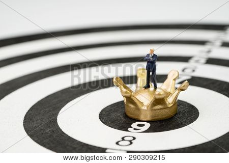Business Goal Target And Achievement