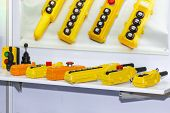 Many Type Of Electric Remote Control Lift Or Crane For Control Direction Up And Down And Movement  I poster