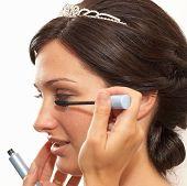 Постер, плакат: Свадебный макияж