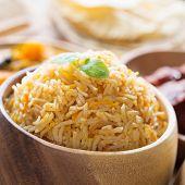 picture of biryani  - Indian food biryani rice or briyani rice - JPG