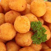 picture of dauphin  - potato ball - JPG