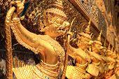 foto of garuda  - Garuda in Wat Phra Kaew Grand Palace of Thailand - JPG