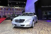 Bangkok - March 26: Mercedes-benz S 500 L Car On Display At The 34Th Bangkok International Motor Sho